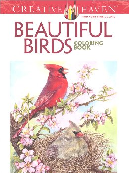 Beautiful Birds Coloring Book(Creative Haven)