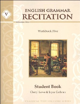 English Grammar Recitation Workbook V Student Book