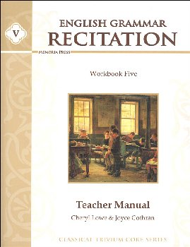 English Grammar Recitation Workbook V Teacher Guide