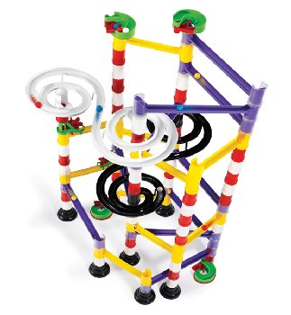 Marble Run Double Spiral Set