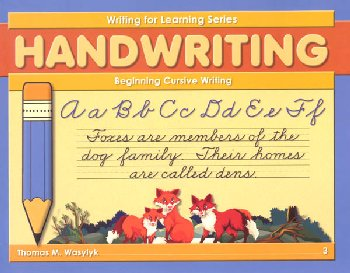 Beginning Cursive Writing Grade 3(WFL Series)