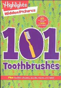 101 Toothbrushes - Hidden Pictures