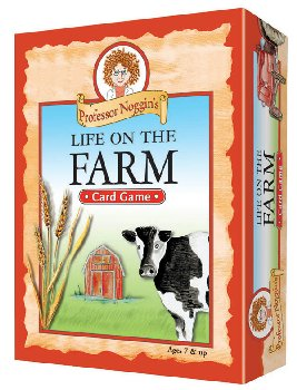 Prof Noggin's Life on the Farm Card Game