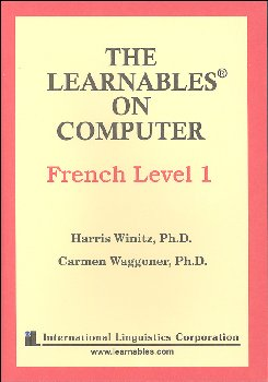 French Level 1 PC - The Learnables 5 Disc Set