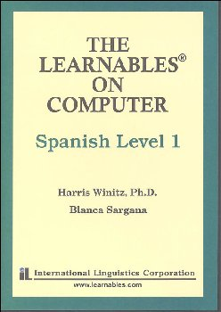 Spanish Level 1 MAC - The Learnables 5 Disc Set