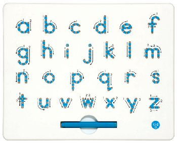 A to Z Lowercase Magnatab Tablet & Magnetic Pen