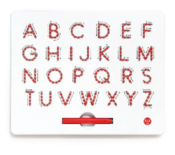 A to Z Uppercase Magnatab Tablet & Magnetic Pen