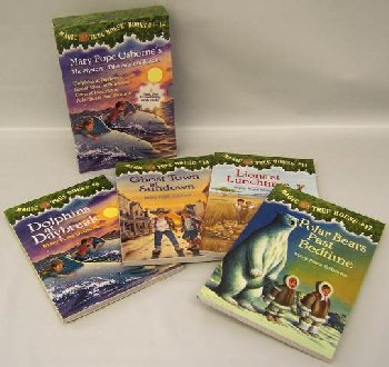 Magic Tree House Books 9-12 (Mystery Anc Ridd