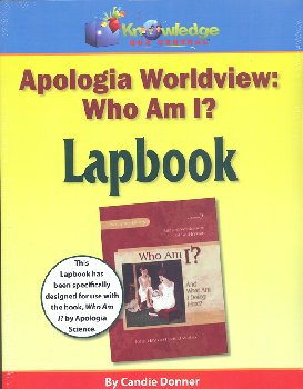 "Apologia Worldview: ""Who Am I"" Lapbook Printed"