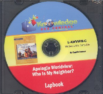 "Apologia Worldview: ""Who Is My Neighbor?"" Lapbook CD-ROM"
