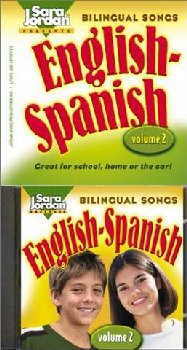 Bilingual Songs Vol 2 English-Spanish Book/CD