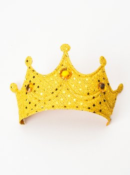 Princess Soft Crown - Gold