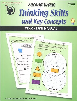 Second Grade Thinking Skills & Key Concepts Teacher's Manual