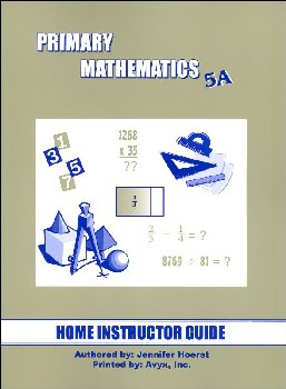 Primary Math US 5A Home Instructor Guide