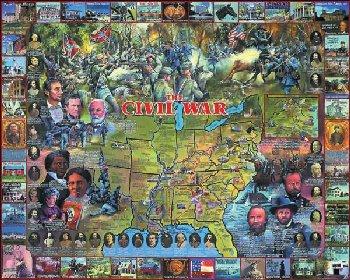 Civil War Puzzle - 1000 pc.