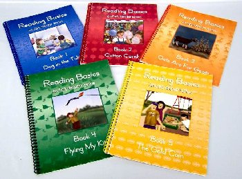 Language Arts 1 set of 5 readers only