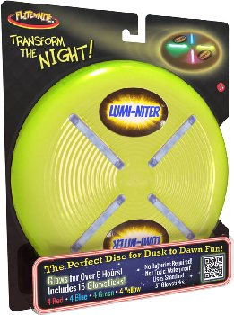 Lumi-Niter Disc: Green (includes 16 glowsticks)