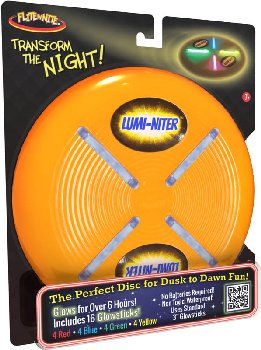 Lumi-Niter Disc: Orange (includes 16 glowsticks)