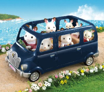 Family Seven Seater (Calico Critters)
