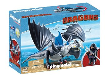 Drago & Thunderclaw (DreamWorks Dragons)