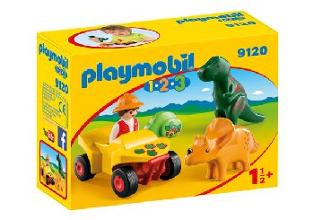 Explorer with Dinos (Playmobil 1-2-3)