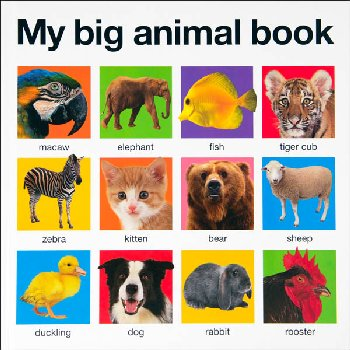 My Big Animal Book (My Big Board Book)