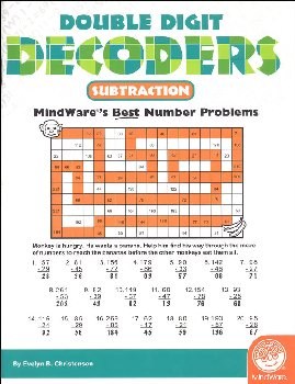Double Digit Decoders: Subtraction (Math Mosaics)