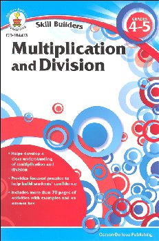 Multiplication and Division Grades 4-5 (Skill Builder)