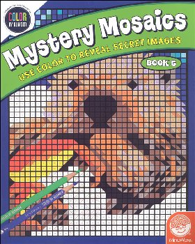 Color By Number Mystery Mosaics: Book 5