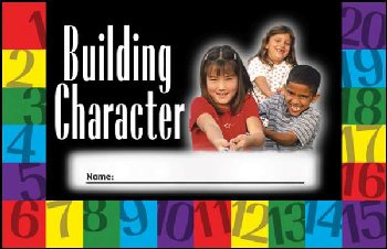 Building Character Incentive Punch Card