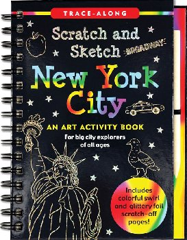 New York City Scratch and Sketch Activity Book