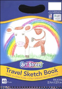 Art Street Have Art, Will Travel Sketch Book