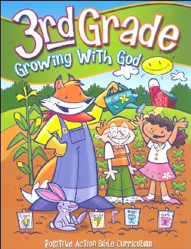 Growing With God - 3rd Grade Student's Manual