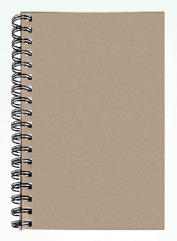 "Art1st Create Your Own Sketch Diary Natural Cover (9"" x 6"")"