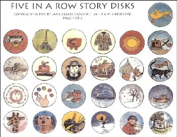 Five in a Row Story Disks