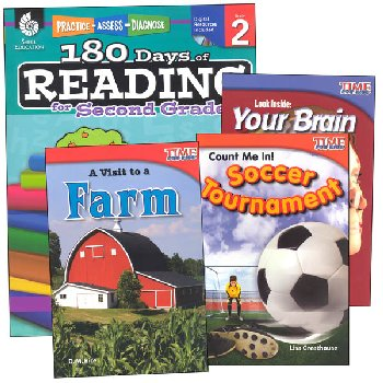 Learn-at-Home Reading Bundle Grade 2
