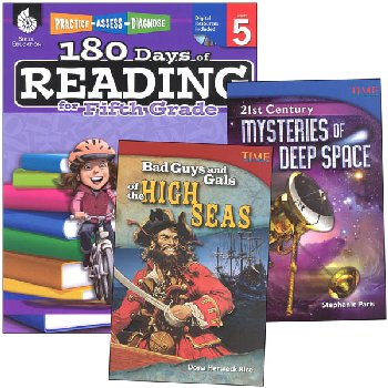 Learn-at-Home Reading Bundle Grade 5