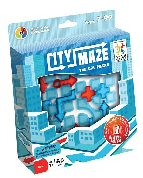 City Maze The GPS Puzzle