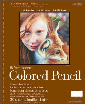 "Strathmore Colored Pencil Pad - 11"" x 14"" (30 sheets)"