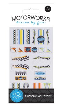 Custom Car Decals 1.0 Vehicle Accessory Kit (90 Pieces)