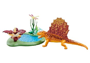 Dimetrodon with Ponds (Dinos)