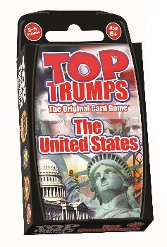 Top Trumps Card Game - The United States