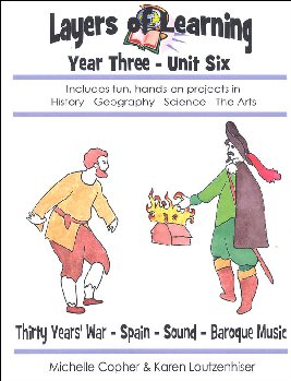 Layers Of Learning Unit 3-6: Thirty Years' War, Spain, Sound, Baroque Music