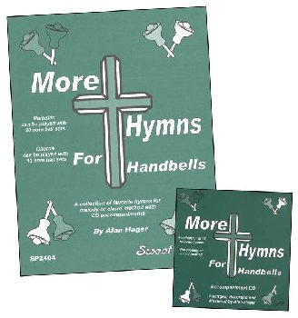 More Hymns For Handbells Book w/ CD
