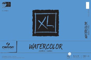 "Canson XL Watercolor Pad (12"" X 18"")"