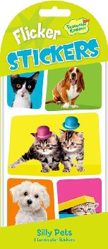 Silly Pets Flicker Stickers