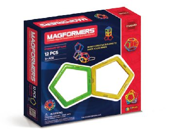 Magformers - Pentagons 12 Piece Set