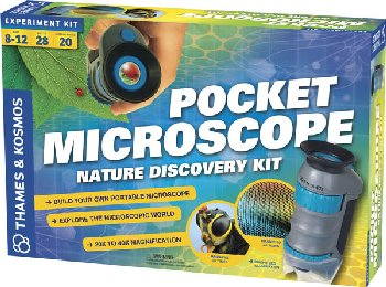 Pocket Microscope Nature Discovery Kit