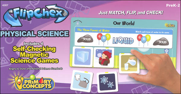 Flip Chex Science - Physical Science