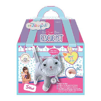 Rescue Pet Sewing Kit - Kitty